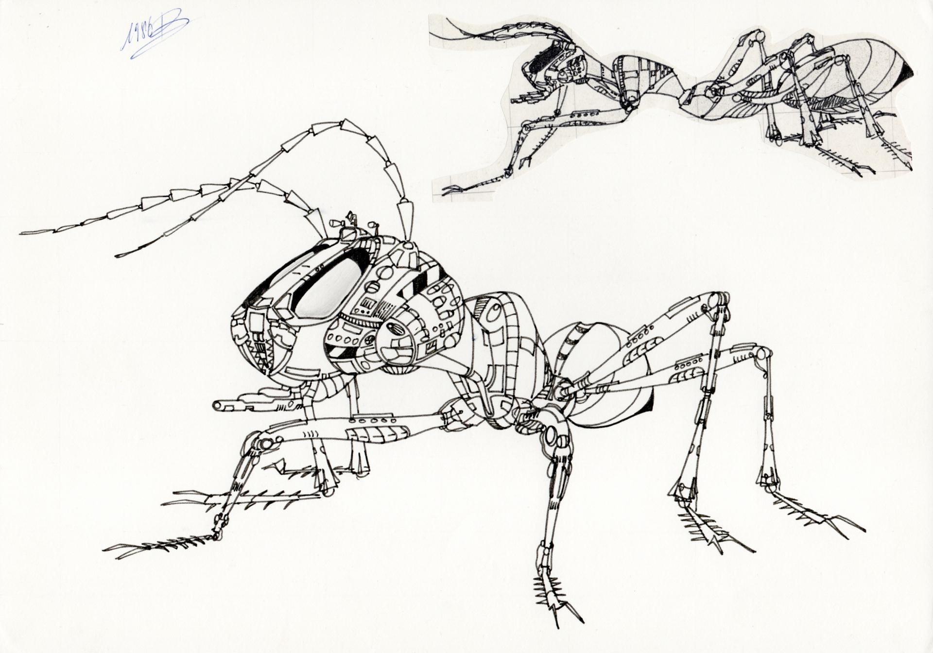M canique - Dessin de fourmi ...